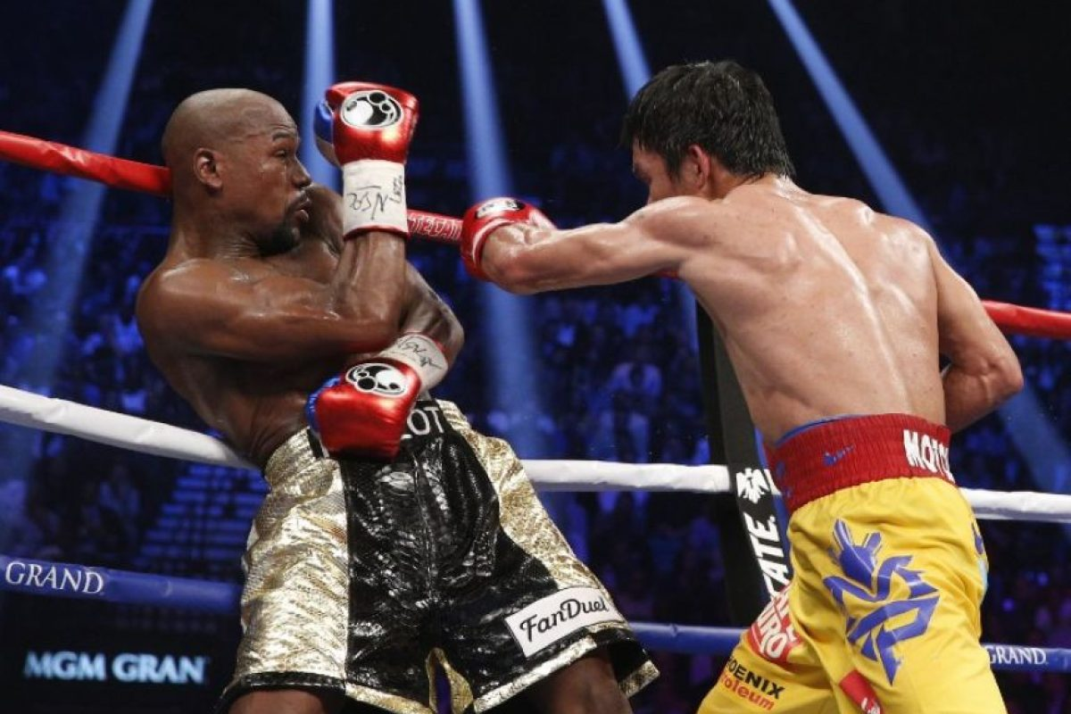 Mayweather le cerró la puerta a Pacquiao para un posible segundo combate. Foto:AFP