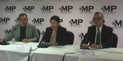 MP y CICIG presentan estructura de bufetes proveedores de impunidad
