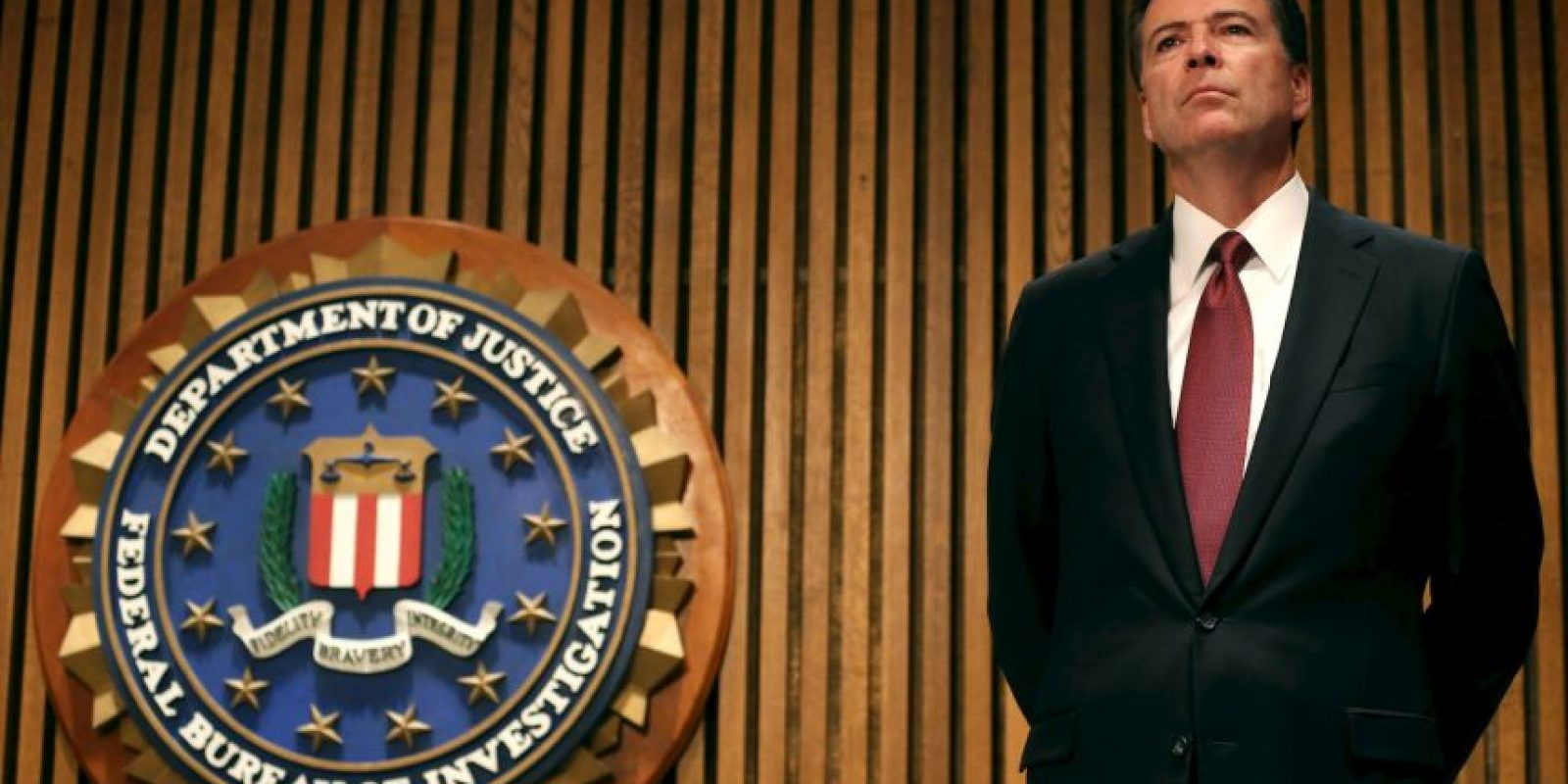 James B. Comey es el director del FBI, agencia que advirtió del ataque en Texas Foto: Getty Images
