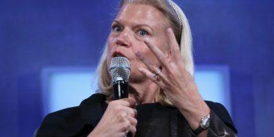 Ginni Rometty, CEO de IBM, se embolsó 19.3 millones de dólares en 2014 Foto:Getty Images