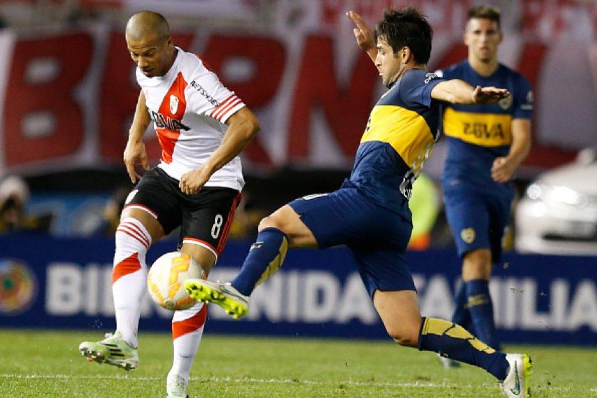 """El primer partido de octavos de final de la Copa Libertadores fue en el """"Monumental"""", casa de River Plate. Foto:Getty Images"""