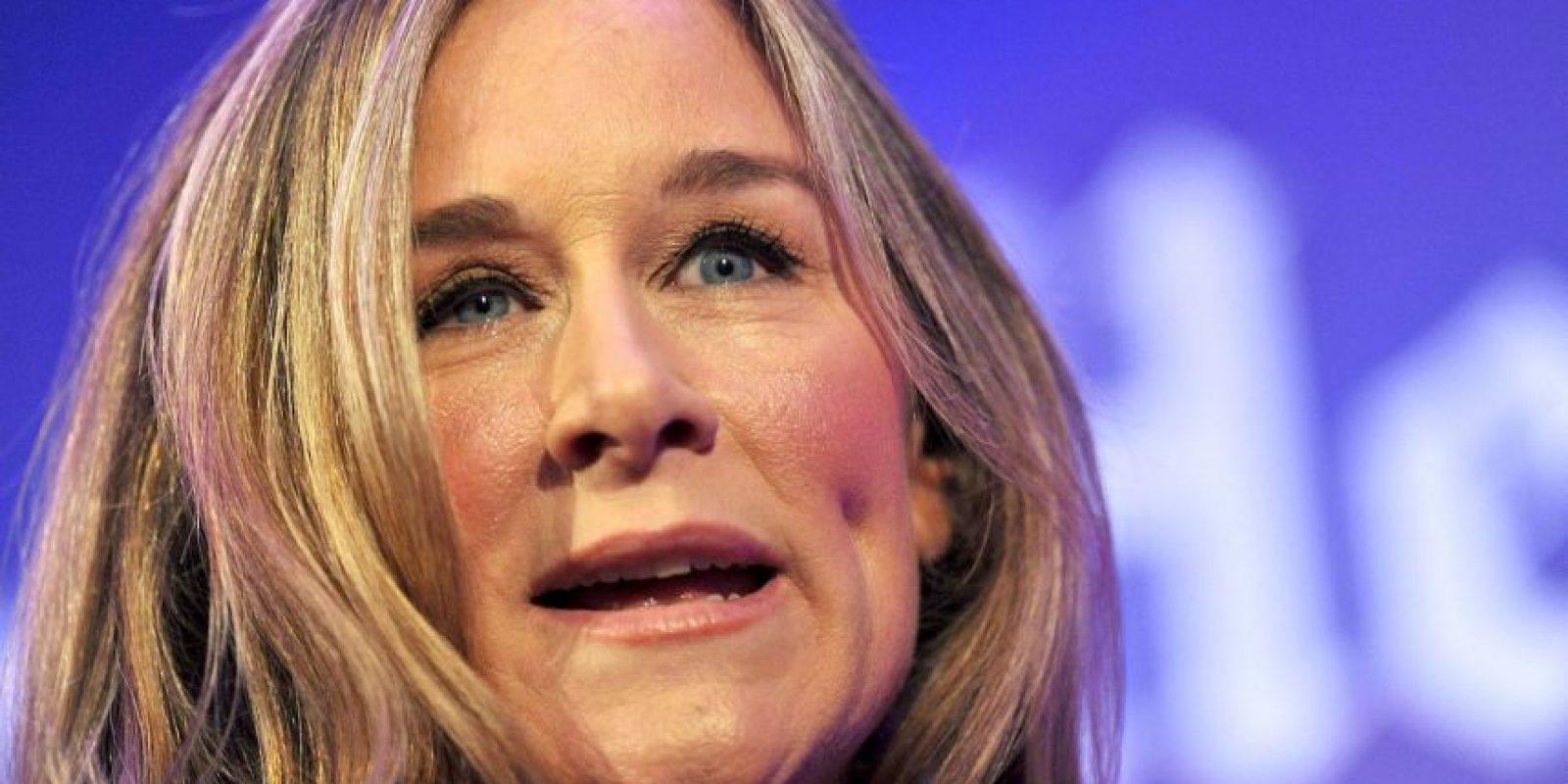 """Angela Ahrendts es la mujer CEO mejor pagada de Estados Unidos según """"Bloomberg Business"""", con un total de 82.6 millones de dólares Foto:Getty Images"""