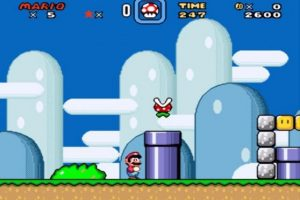 7) SUPER MARIO WORLD (SNES) Foto: Nintendo