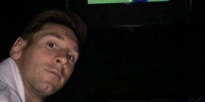 Lionel Messi, contagiado por la pasión del
