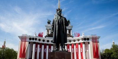 Se denomina Día de la Victoria a la celebración de la victoria de la Unión Soviética y los aliados sobre la Alemania nazi el 9 de mayo de 1945 en la Segunda Guerra Mundial. Foto:Getty Images