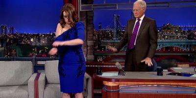 Sorprendió al conductor Foto:Late Show with David Letterman