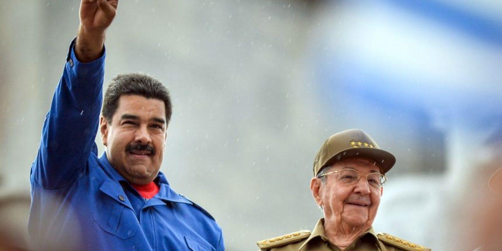 Cuba y Venezuela repiten un año más en la lista negra de la Comisión Interamericana de Derechos Humanos. Foto:AFP