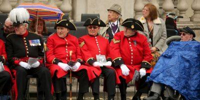 Veteranos fueron solicitados en todos los países que festejaron. Foto:Getty Images