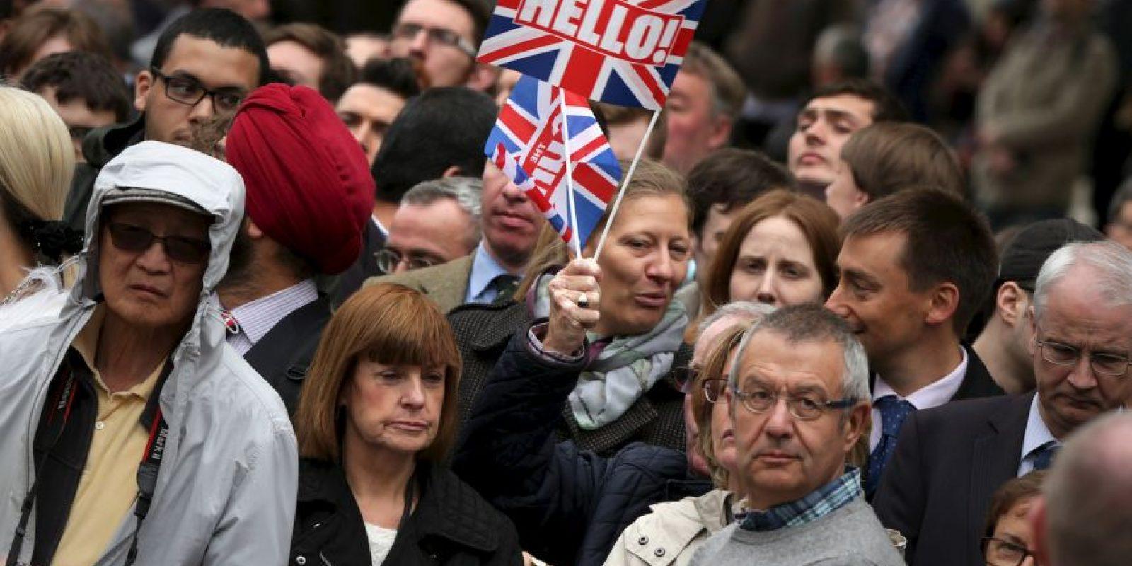 Había fiestas callejeras en todo Reino Unido. Foto:Getty Images