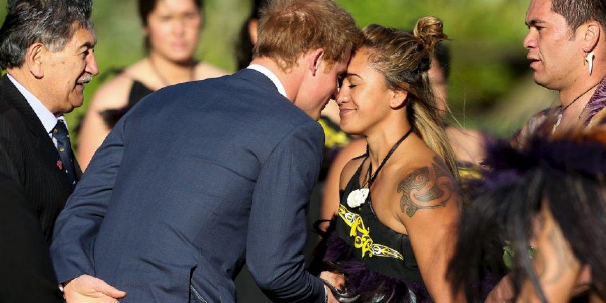 Príncipe Harry inicia su visita a Nueva Zelanda
