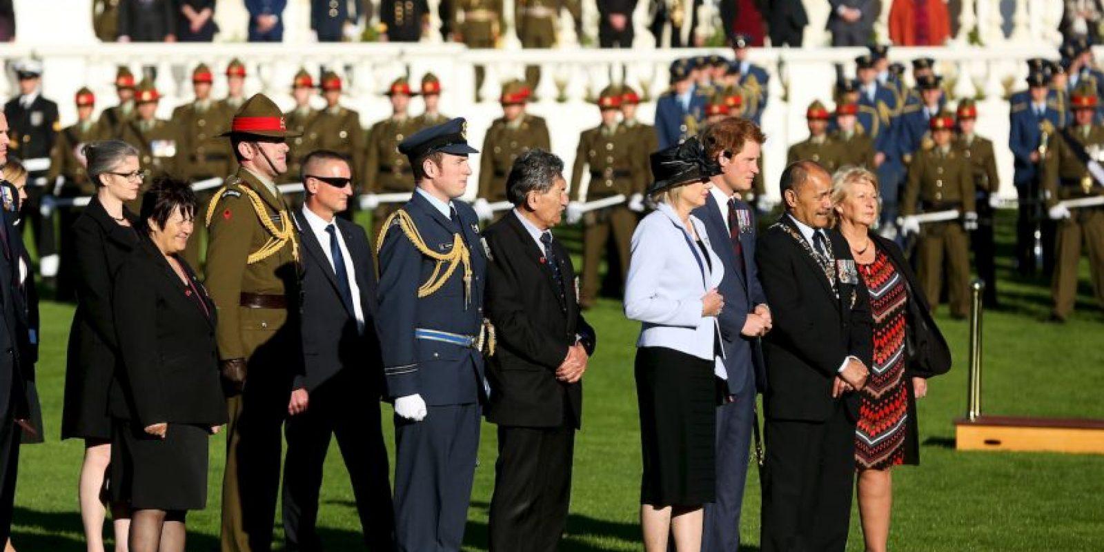 Esta visita es la primera que el príncipe Harry ha hecho a Nueva Zelanda. Foto:Getty Images