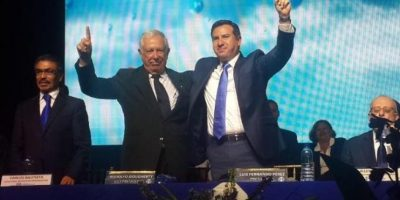 El PRI proclama a su binomio presidencial