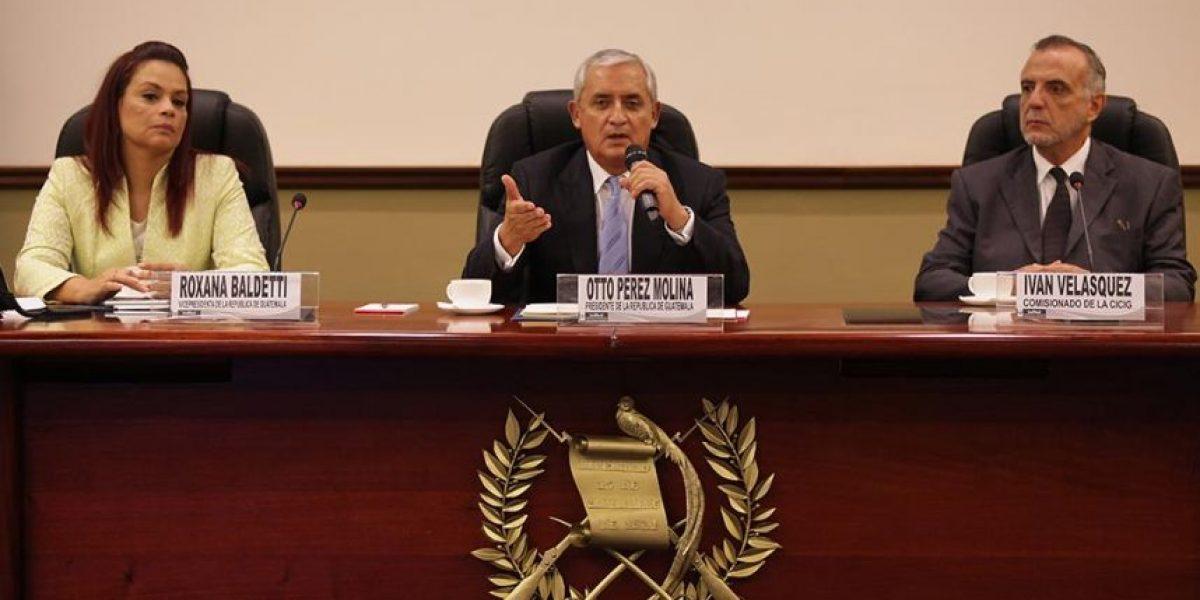 Iván Velásquez, titular de la CICIG que desbarató red de contrabando