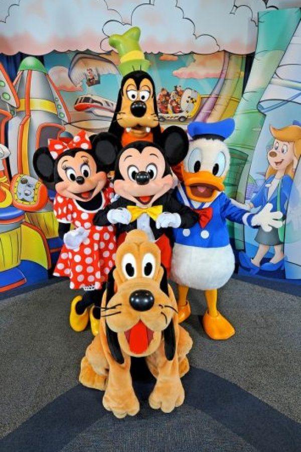 Los otros están en la Sala de la Campana de la Independencia en Filadelfia, y el otro obviamente en el Salón Oval de la Casa Blanca Foto:Disney