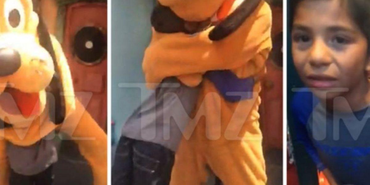 Un niño resultó herido cuando fue abrazado por