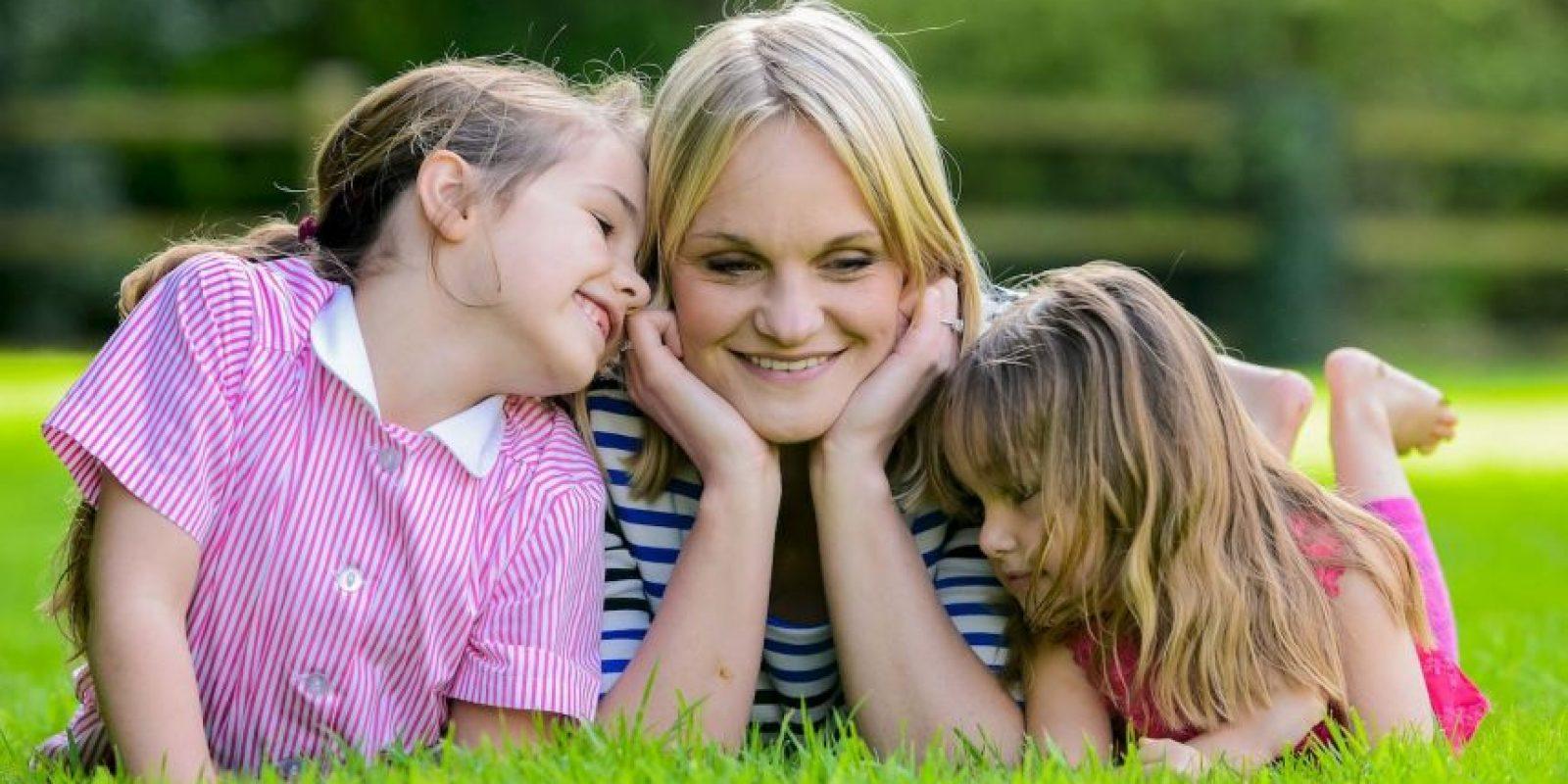 Edit: component En un acto heroico una niña de seis años salvó a su madre de un derrame cerebral Foto:Grosby Group