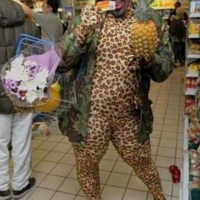 Animal print y piña no se llevan bien Foto:People of walmart