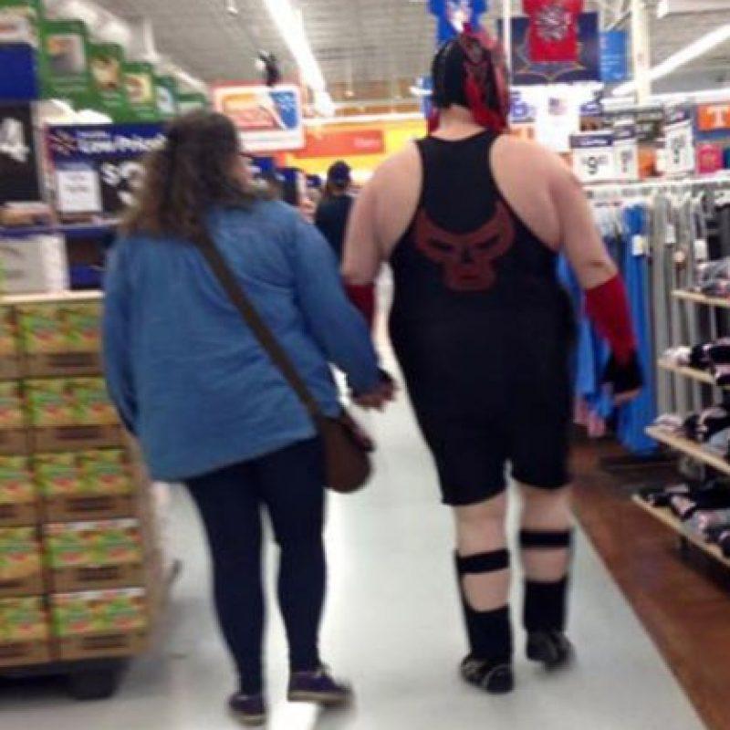 ¿Luchador? Foto:People of walmart