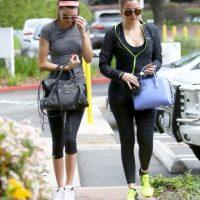 Kendall Jenner y Khloé Kardashian Foto:Grosby Group