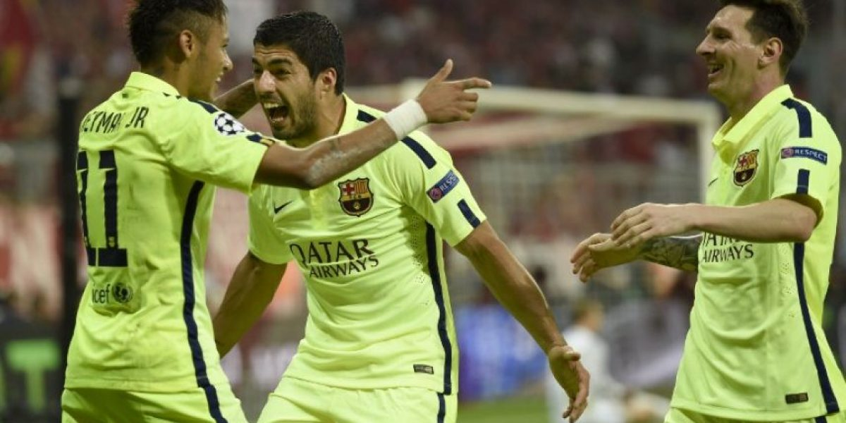 VIDEO. El Barça celebra en Múnich su pase a la final de la Champions