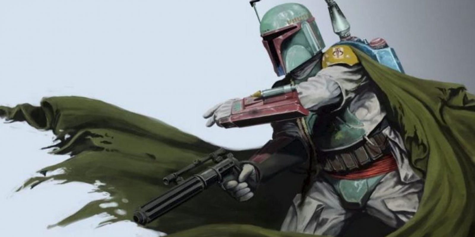 """Al ver la muerte de su padre en manos de un """"Jedi"""", Boba siguió los pasos de su padre Jango y se volvió eficaz en su trabajo, teniendo fama a nivel galáctico de ser el mejor cazarrecompensas Foto:twitter.com/Twilightish"""