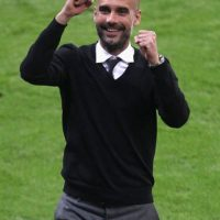 Pep Guardiola es entrenador del Bayern Munich, equipo con quien tiene contrato hasta 2016. Foto:Getty Images