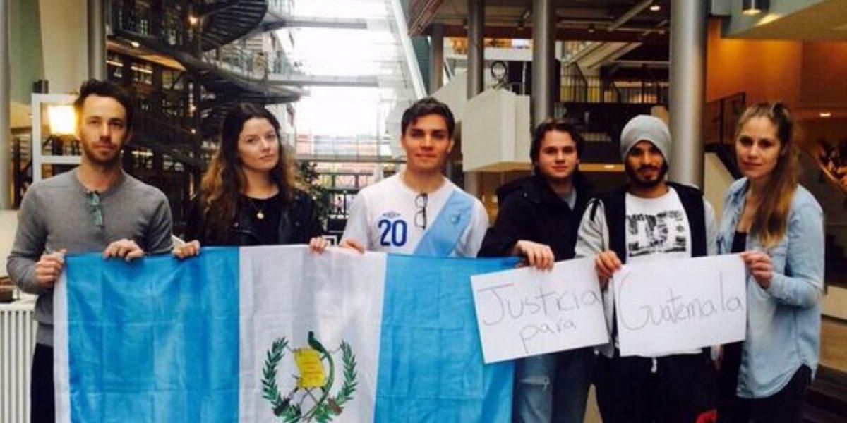 Guatemaltecos en el extranjero también dicen