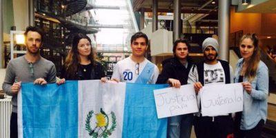 """Guatemaltecos en el extranjero también dicen """"No más corrupción"""""""