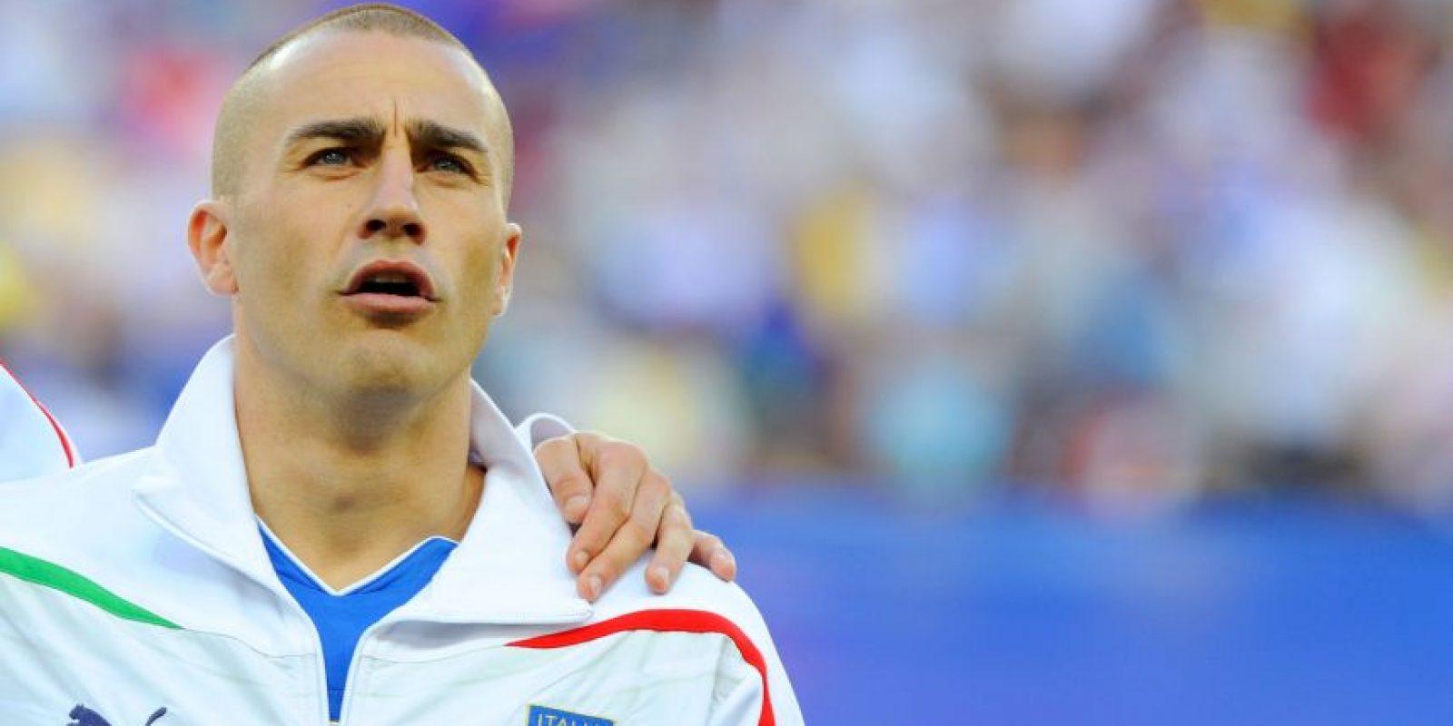 Fue Balón de Oro y Jugador Mundial de la FIFA en 2006, año en que también levantó la Copa del Mundo. Foto:Getty Images