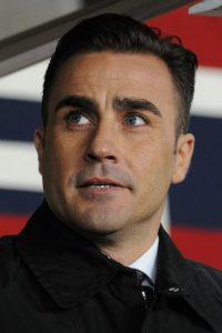 Fabio Cannavaro es un entrenador y exfutbolista italiano que fue campeón del mundo en Alemania 2006. Foto:Getty Images