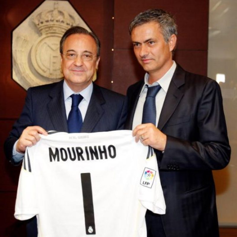 En 2010, José Mourinho llegó al Real Madrid. Foto: Getty Images