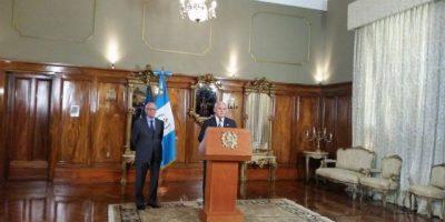 Otto Pérez sobre las capturas en el IGSS y BANGUAT: