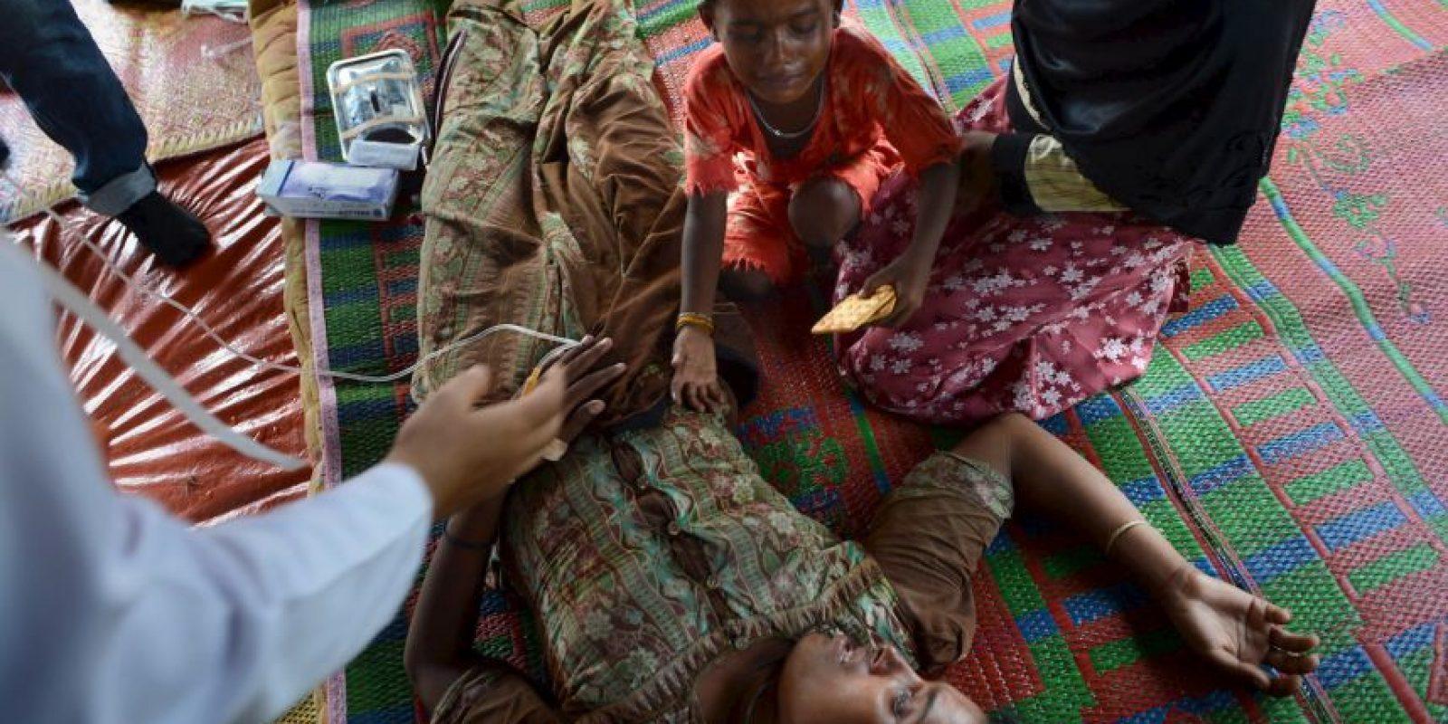 Inmigrantes en Indonesia Foto:AFP
