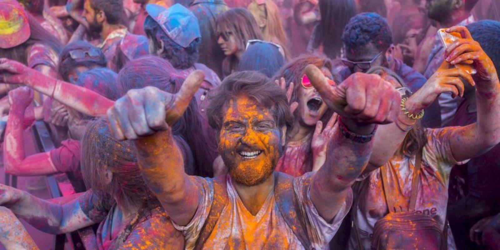 Festival de Colores en Turquía Foto:AFP