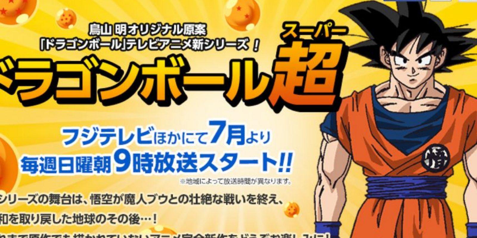 También su página de Internet. Foto:vía Dragon Ball Super