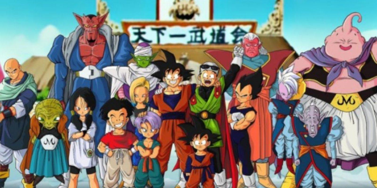 Sí, amamos Dragon Ball Z desde tiempos inmemoriales. Foto:vía Toei