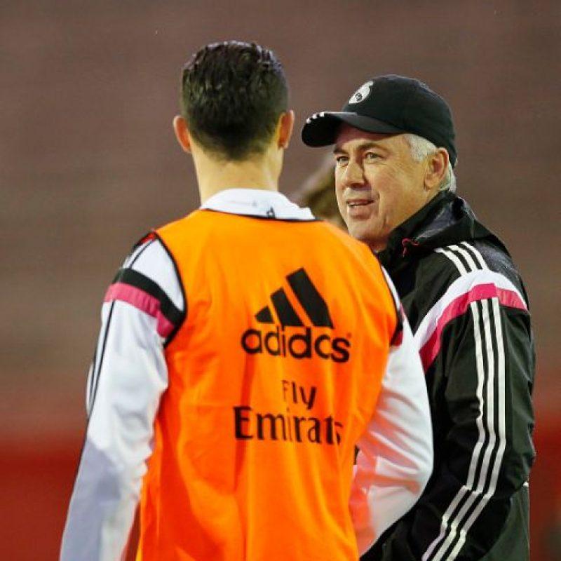 """Según el diario español """"Marca"""", el portugués considera al italiano """"el mejor entrenador que ha tenido"""". Foto:Getty Images"""