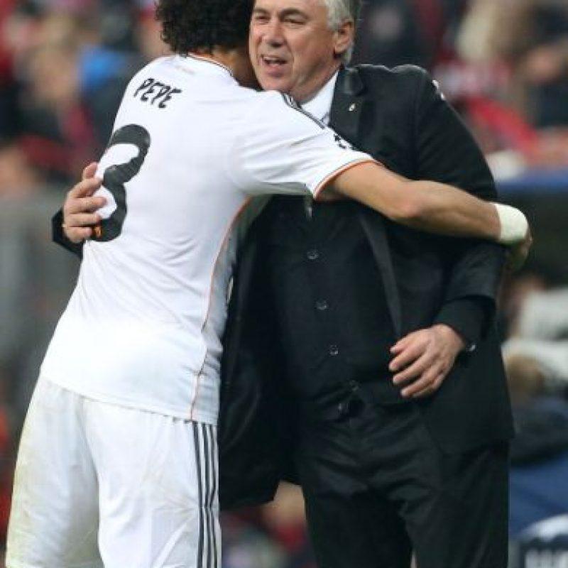 """""""Gracias a Dios he tenido un entrenador como Ancelotti. Me ha ayudado muchísimo"""", declaró en marzo pasado el portugués. Foto:Getty Images"""