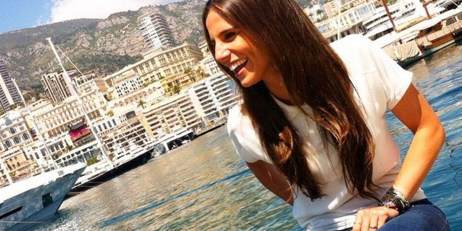 """También se dijo en marzo pasado que salió con """"CR7"""" Foto:Vía instagram.com/lucia_villalon"""