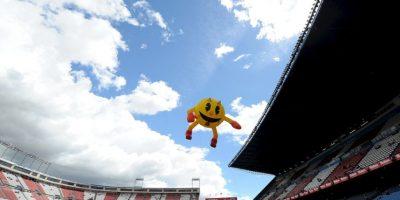 """""""Pac-Man"""" aparecerá próximamente en """"Pixels"""" de Sony Pictures Foto:Getty Images"""