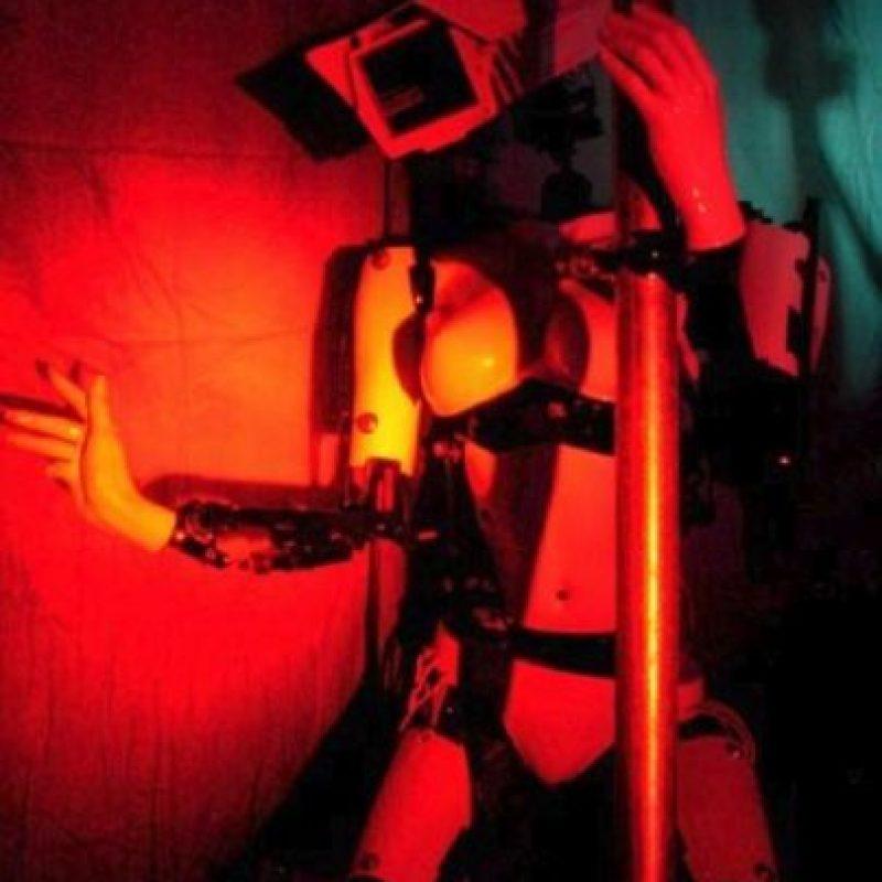 """""""Peepshow"""" es un concepto inventado por el artista Giles Walker Foto:Giles Walker"""