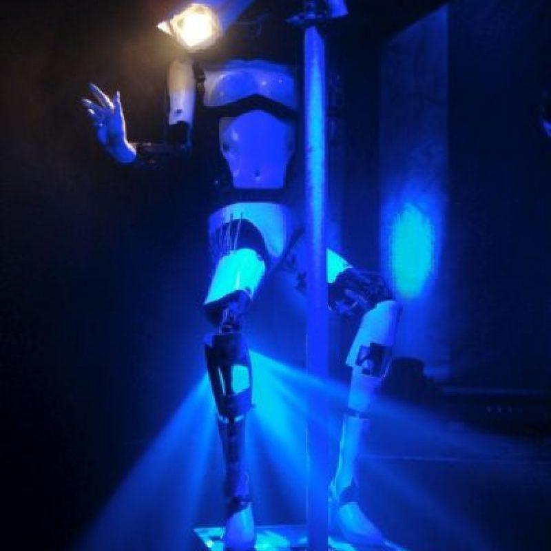 """Fue presentado en la exposición """"Mutan Brain"""" de 2007 en Londres, Inglaterra Foto:Giles Walker"""