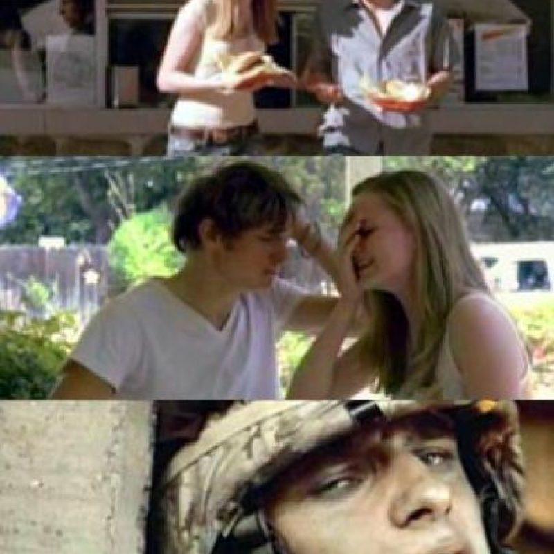 """También estuvo en el video """"Wake Me Up When September Ends"""", de Green Day, en el que se criticaba la Guerra de Irak. Foto:vía Getty Images"""