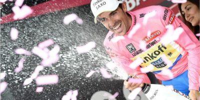 FOTOS: El dominio de Contador se extiende en el Giro de Italia