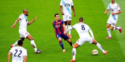 Barcelona empató 2-2 con Deportivo La Coruña en el último partido de la temporada Foto:Getty Images
