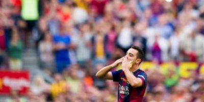 Cracks del futbol se rinden a los pies de Xavi Hernández en las redes