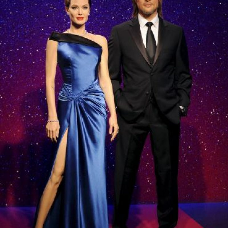 Angelina Jolie y Brad Pitt Foto: Getty Images
