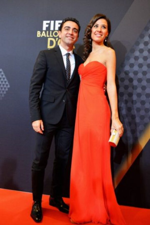 Nuria Cunillera, esposa de Xavi Foto:Getty Images