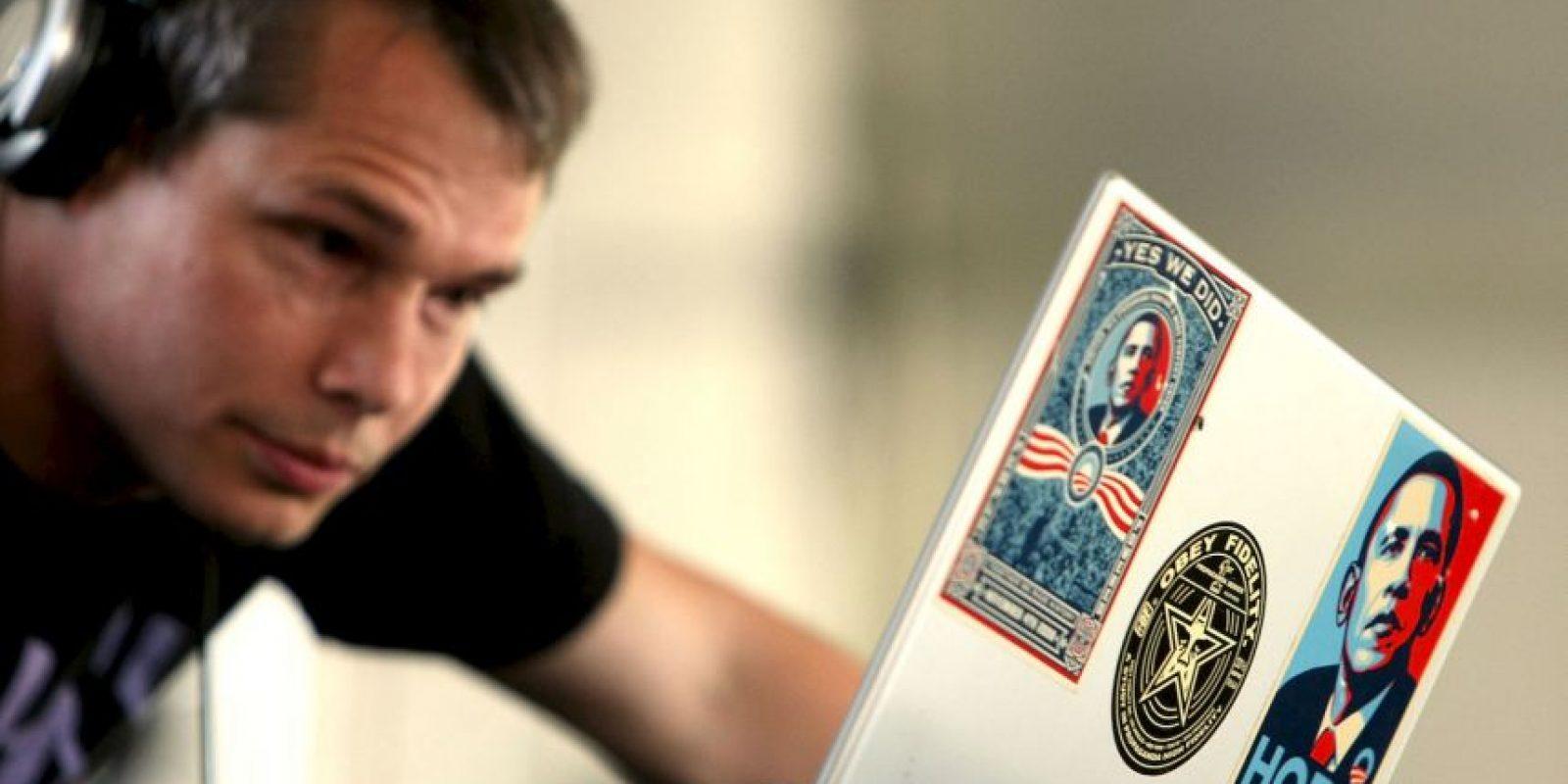 1. Shepard Fairey seguró que el presidente de Estados Unidos no hizo honor al cartel de la campaña de 2008. Foto:Getty Images