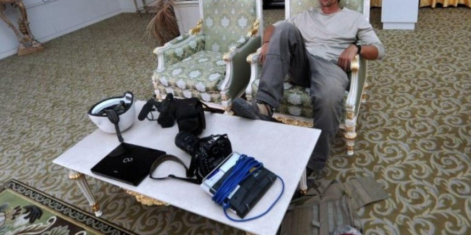 El grupo Estado Islámico difundió un video en el que se muestra la decapitación del periodista estadounidense James Foley, quien había sido capturado en Siria en 2013. Foto:AFP